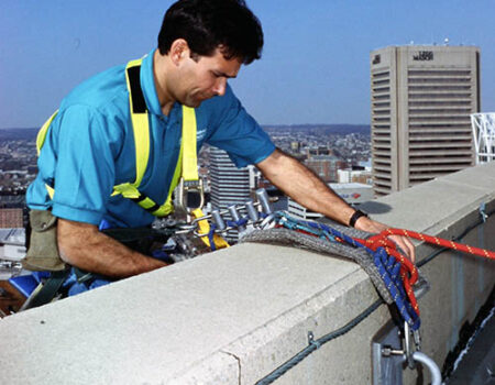 Parapet must be capable of supporting